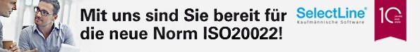 SelectLine unterstützt ISO20022