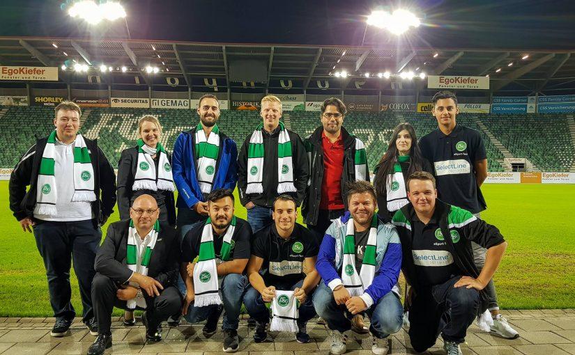 SelectLine meets FC St.Gallen 1879 E-Sport